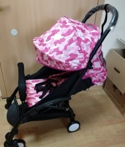 детская коляска yoya 2017 175 градусов цвет красный подножка в подарок