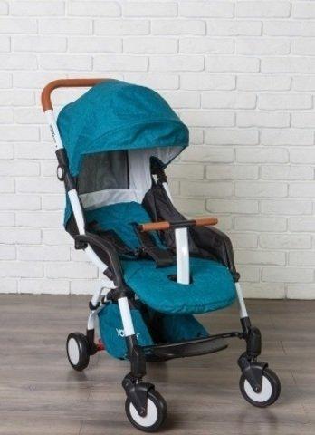 детская коляска yoya care 2018 изумрудная