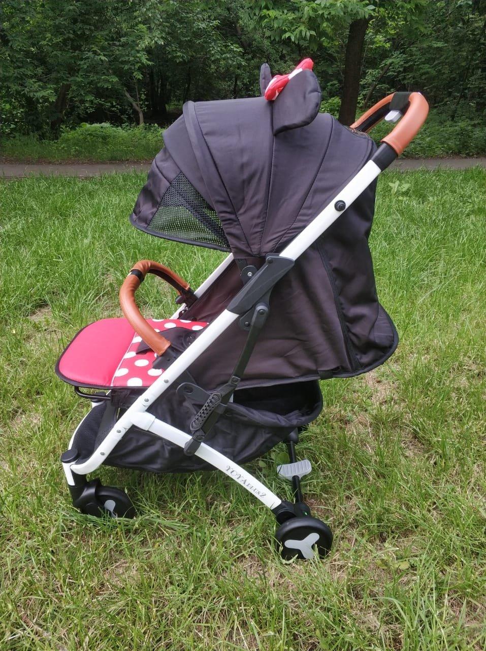 детская коляска yoya plus 2 2018 цвет минни