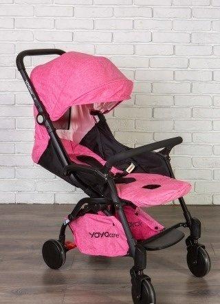 детская коляска yoya care 2018 розовая