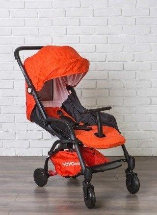 детская коляска yoya care 2018 оранжевая