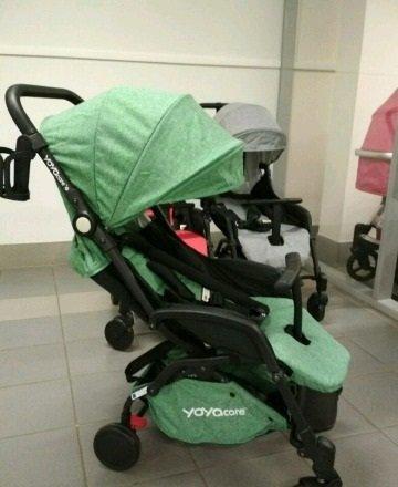 детская коляска yoya care 2018 зеленая