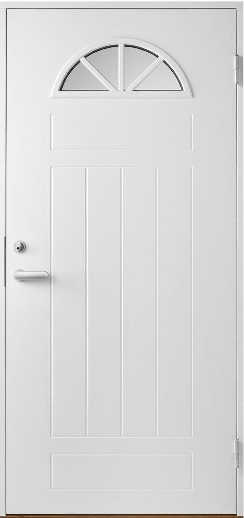 Входная финская дверь JELD-WEN Basic 0050 белая.