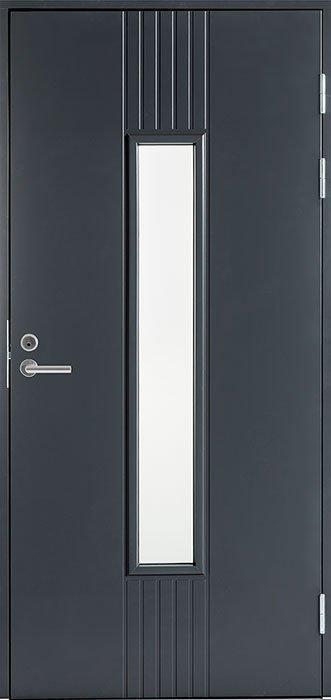 Входная финская дверь JELD-WEN F2050 W28 белая