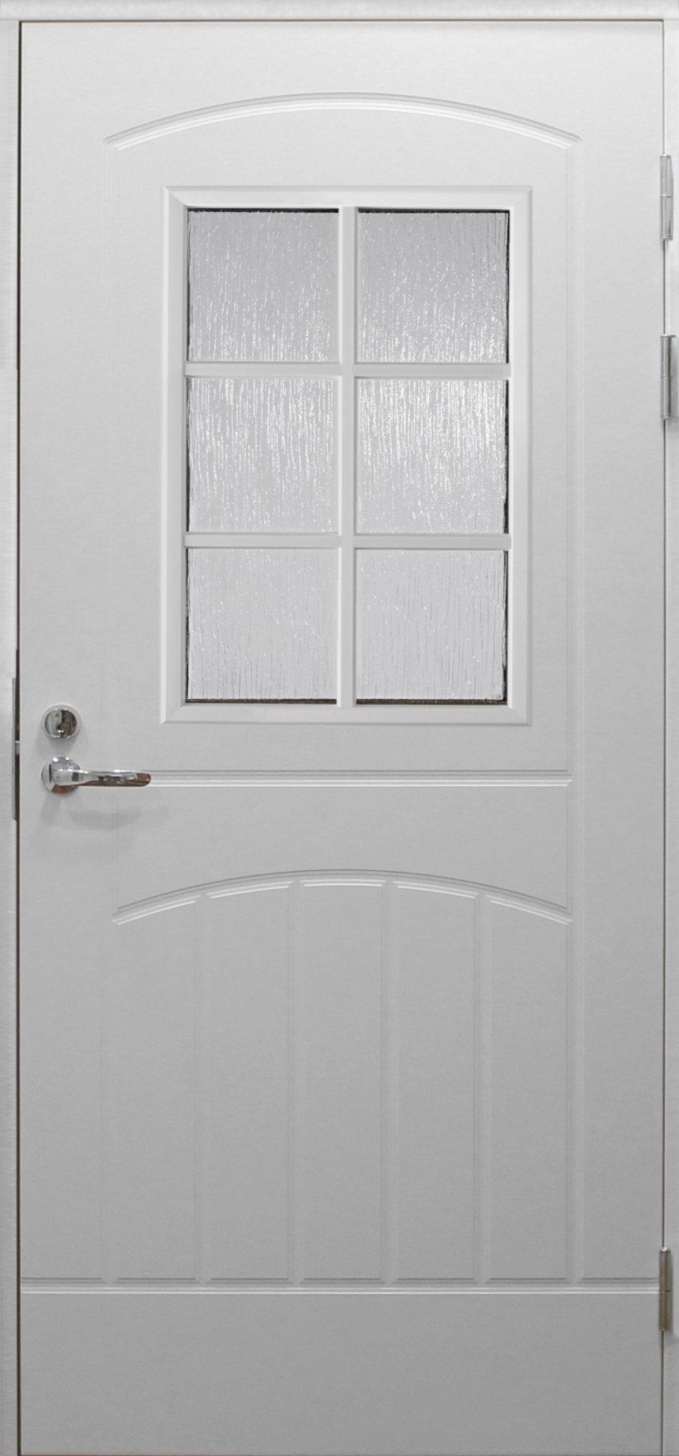 Входная финская дверь JELD-WEN F2000 W71 белая