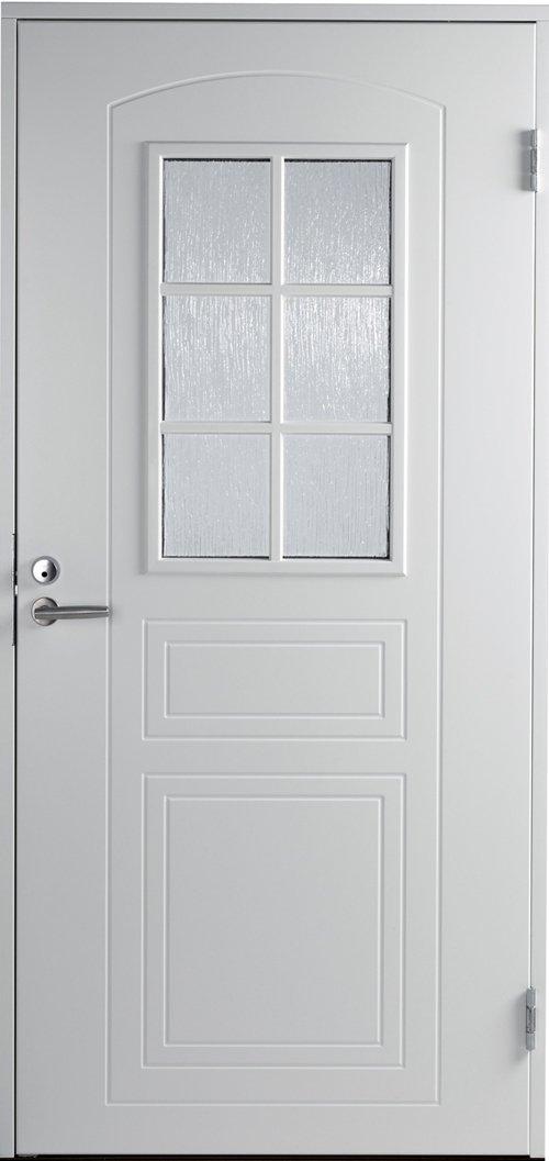Входная финская дверь JELD-WEN Basic 0020 белая