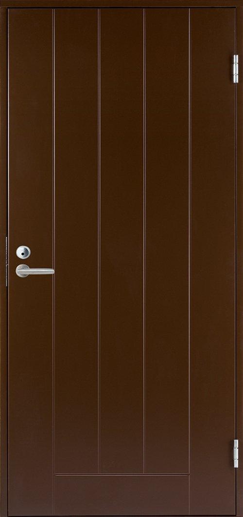 Входная финская дверь JELD-WEN Basic 0010 коричневая