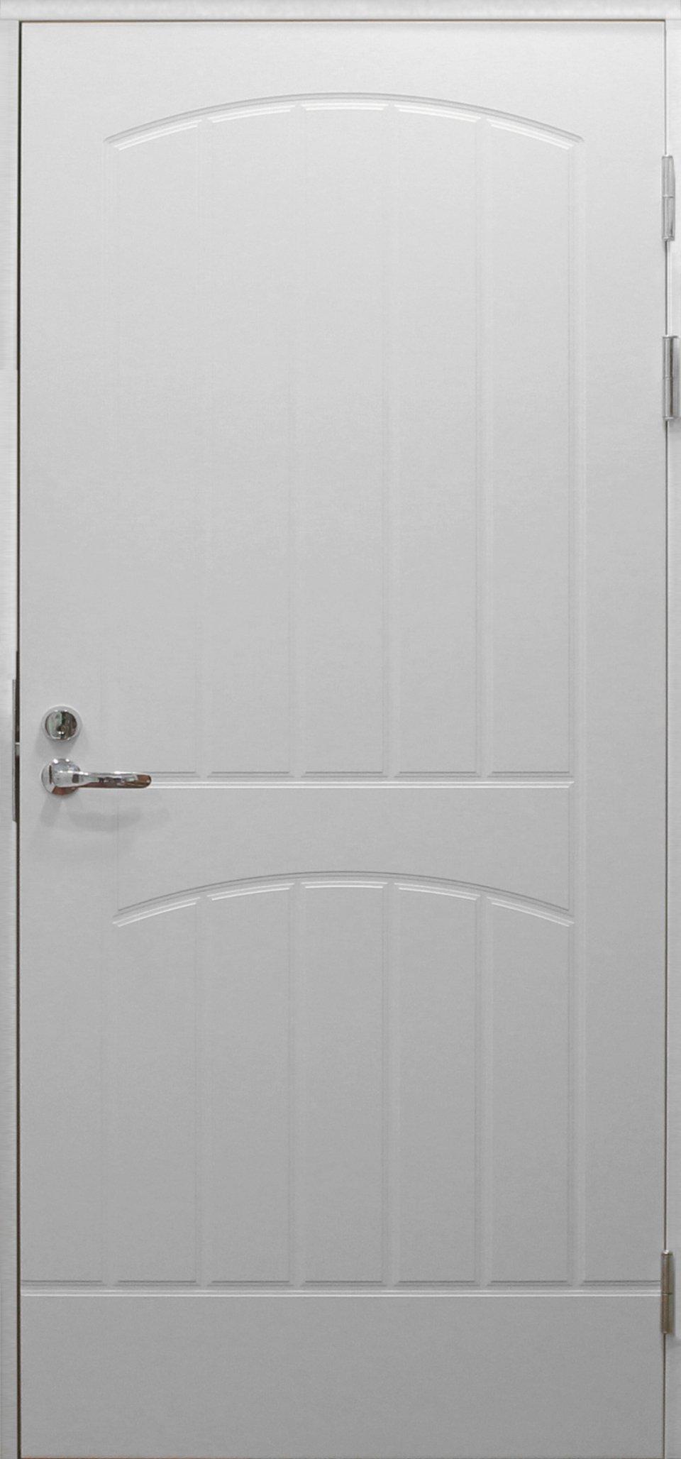 Входная финская дверь JELD-WEN F2000 белая