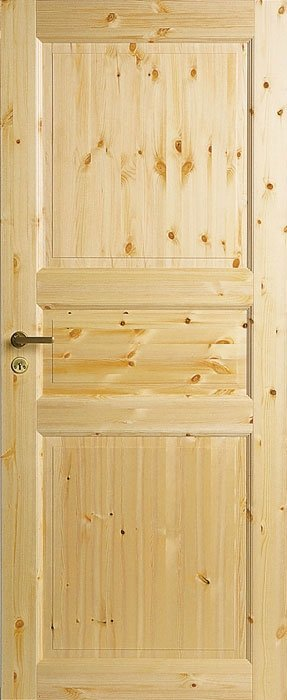 Межкомнатная дверьJELD-WEN №51 массив сосны лак