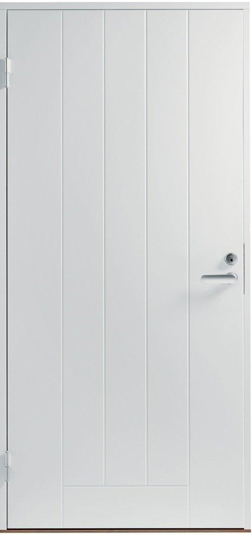 Входная финская дверь JELD-WEN Basic 0010 белая