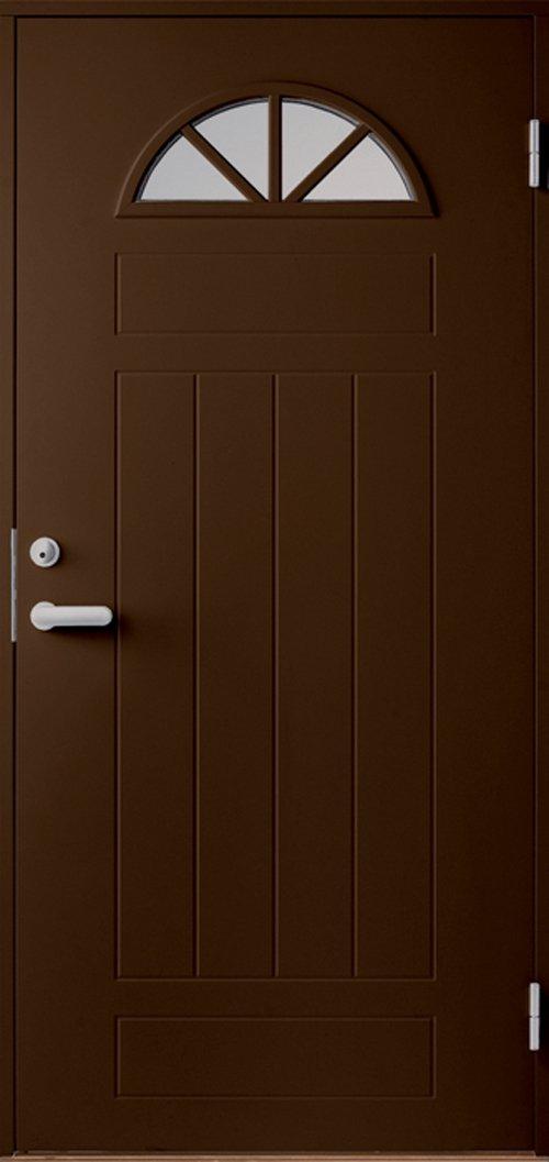 Входная финская дверь JELD-WEN Basic 0050 коричневая