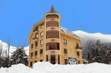 Гостиница Меридиан Домбай официальный сайт