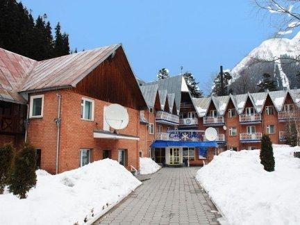 Гостиница Снежинка Домбай официальный сайт
